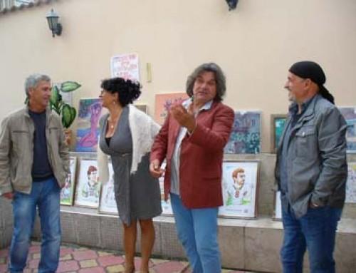"""Трио художници представиха картини от пленера """"Есен 2016"""""""